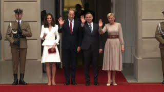 Prince William, Kate on Brexit diplomacy tour of Poland, Germany