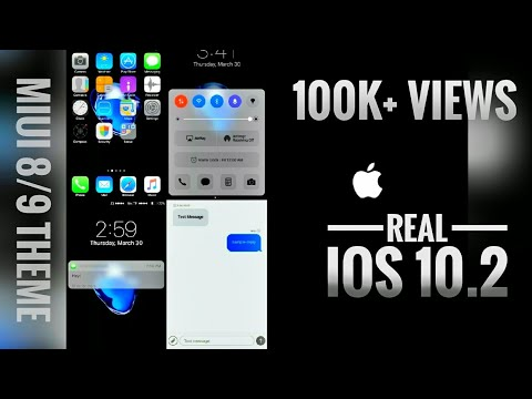 Real iOS 10 2 Theme | iOS in Android | MIUI 8 | v2 1 update