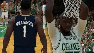 NBA 2K19 Tacko Fall My Career Ep. 3 - Revenge vs Zion Williamson