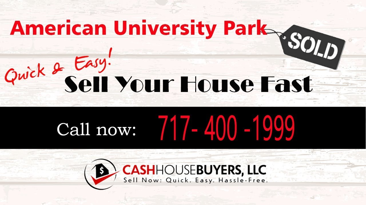 HOW IT WORKS We Buy Houses  American University Park Washington DC | CALL 717 400 1999 | Sell House