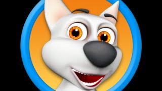 Моя говорящая собака - играем в шарики - My Tilking Dog - Android GamePlay
