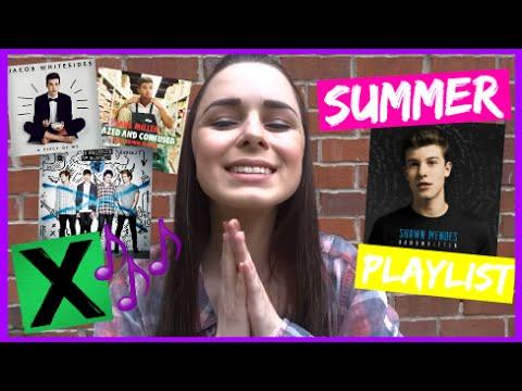 Summer Music Playlist! ♡ What Music I Love + My Favorite Artists!