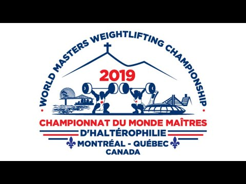Montreal World Masters Weightlifting 2019 - Day 9