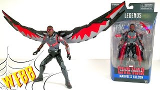 MARVEL LEGENDS Captain America: Civil War FALCON Action Figure Review