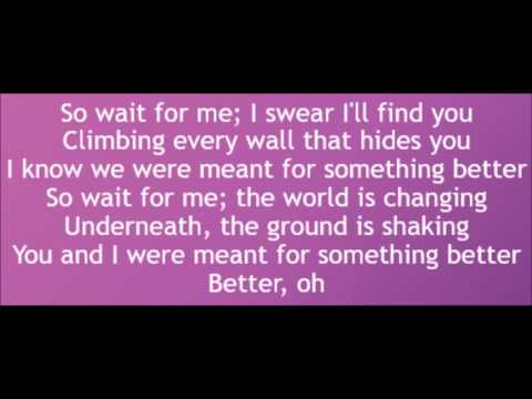 Audien & Lady Antebellum - Something Better (Lyrics)