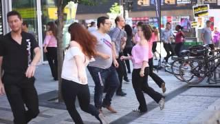 International West Coast Swing Flash Mob 2015 -- Montréal, Canada -- Officiel