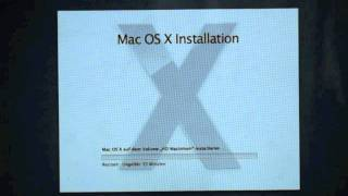Mac OSX Lion Installieren!!