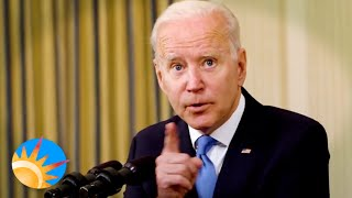 President Biden thinks a giant budget with huge debt is a good thing. Yeah, good luck with that