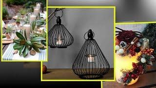 Christmas Floristry.  DIY Christmas Candle Decor, Holders And Display Ideas