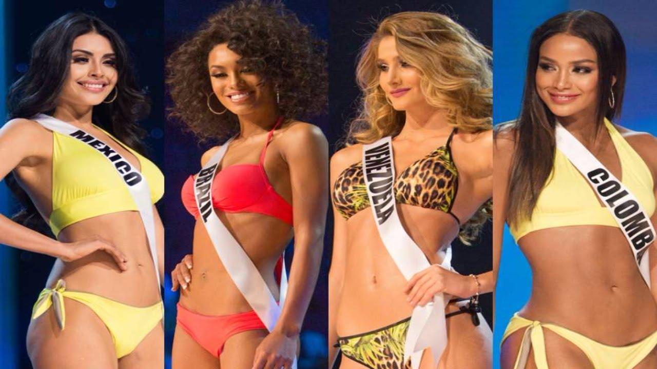 Miss universo 2016 2017 desfile oficial traje de ba o for Trajes de bano 2017