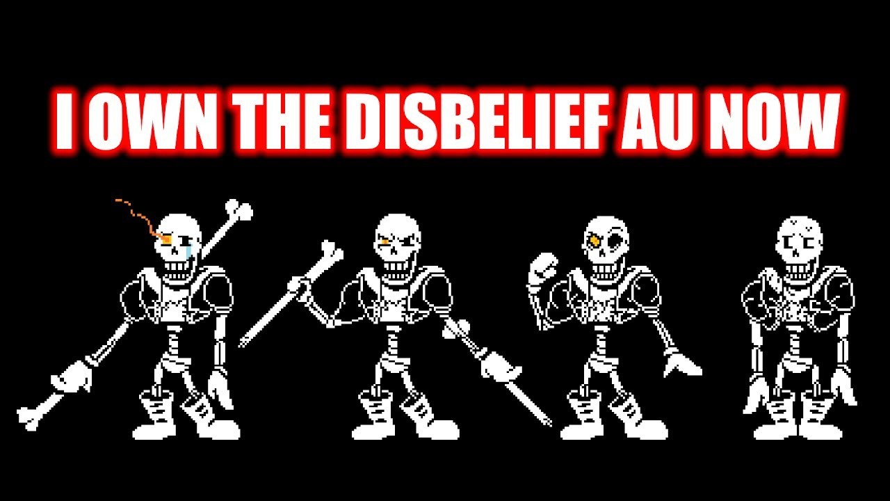 i own the disbelief au now. - youtube