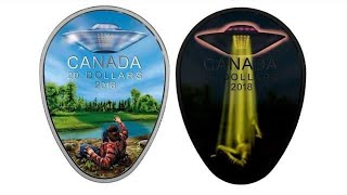 Canadian Government Releases UFO Encounter Official $20 Coin After Public UFO Disclosure