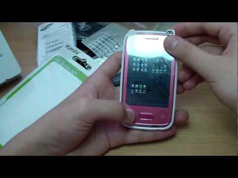 Обзор Samsung Galaxy Y Duos