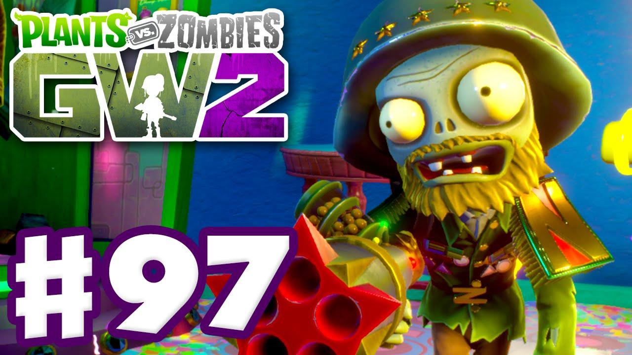 Plants Vs Zombies Garden Warfare 2 Gameplay Part 97 General Supremo Pc Youtube