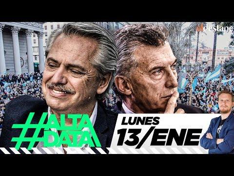 Alberto en alza y Macri se hunde | #AltaData, todo lo que pasa en un toque