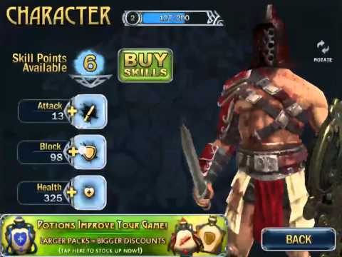 blood and glory immortals mod apk