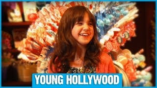 Bailee Madison Is a Kid in a Candy Store - Literally!