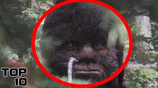 Top 10 Bigfoot Sightings Caught On Tape