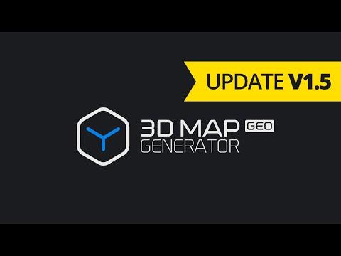 Update 3D Map Generator - GEO v1.5