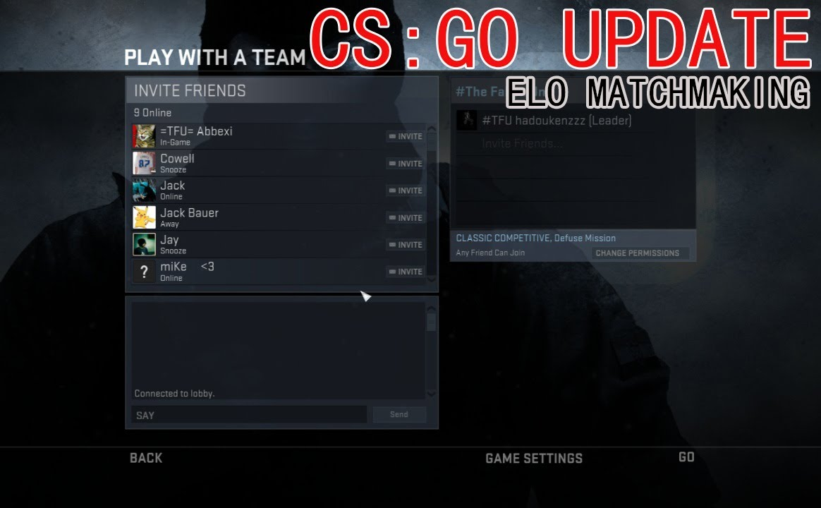 Related searches for cs go matchmaking download