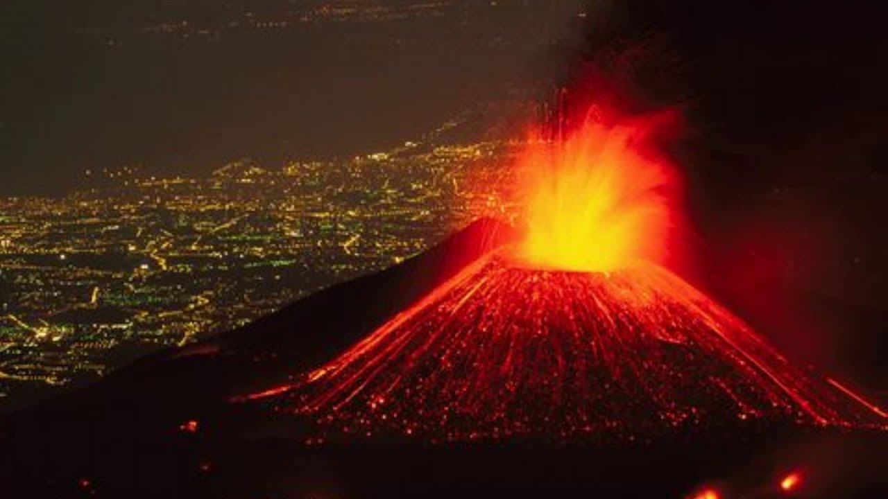 mount etna Watch video europe's largest active volcano, mount etna, put on a show wednesday.