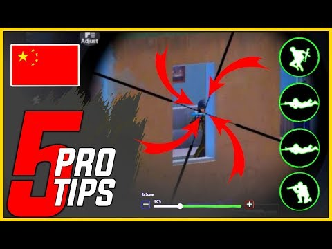 🔥Top 5 Pro Tips - Ye Cheez Krlo Bass | How To Play Like Chinese Pro Players | Pubg Mobile |