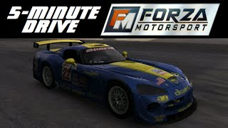 5-Minute Drive - Forza Motorsport - 2004 Dodge #22 Viper Competition Coupe