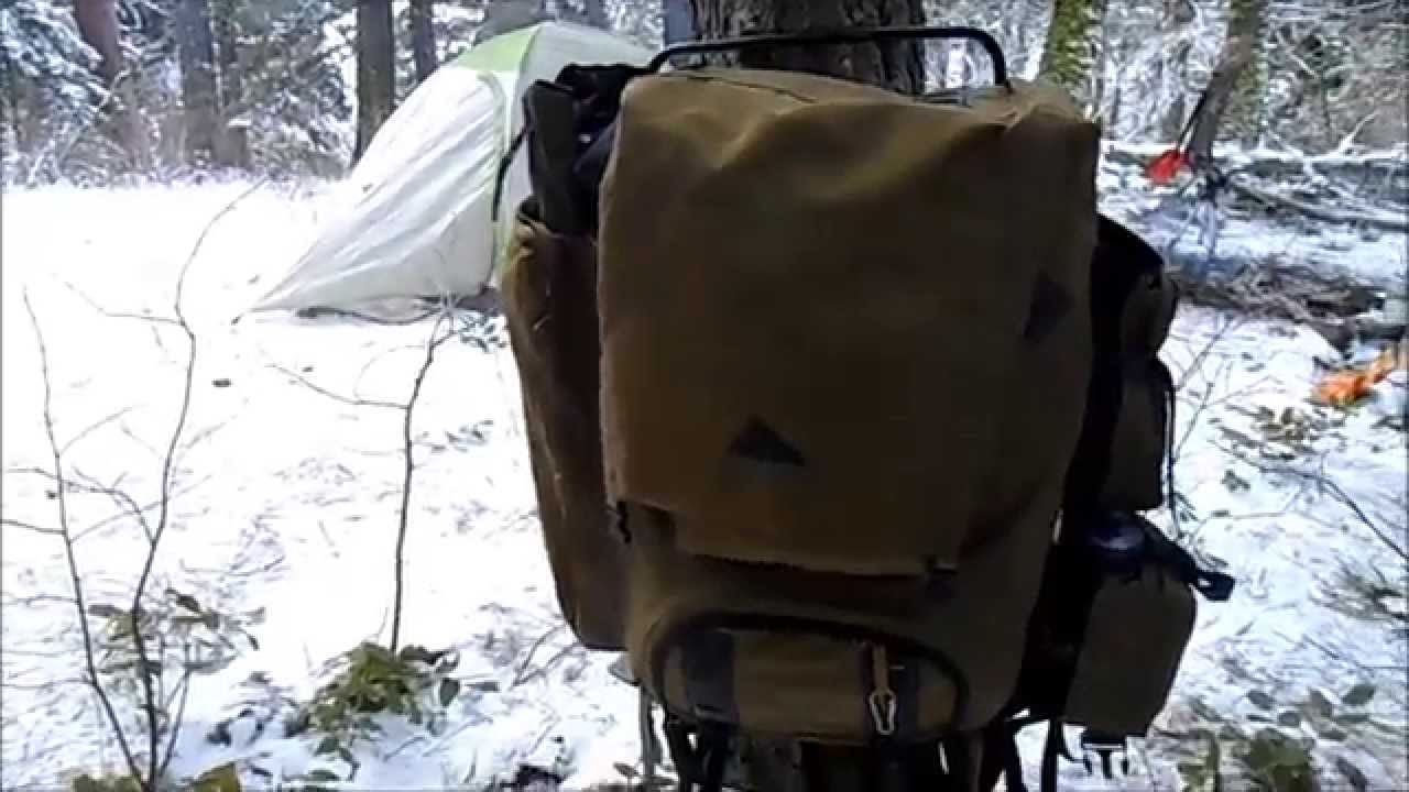 External Frame Backpack: Kelty Super Tioga - YouTube