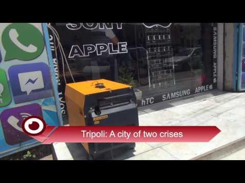 Tripoli A city of two crises