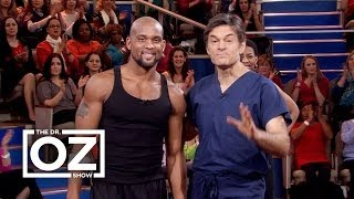 Shaun T Insanity with Dr. Oz