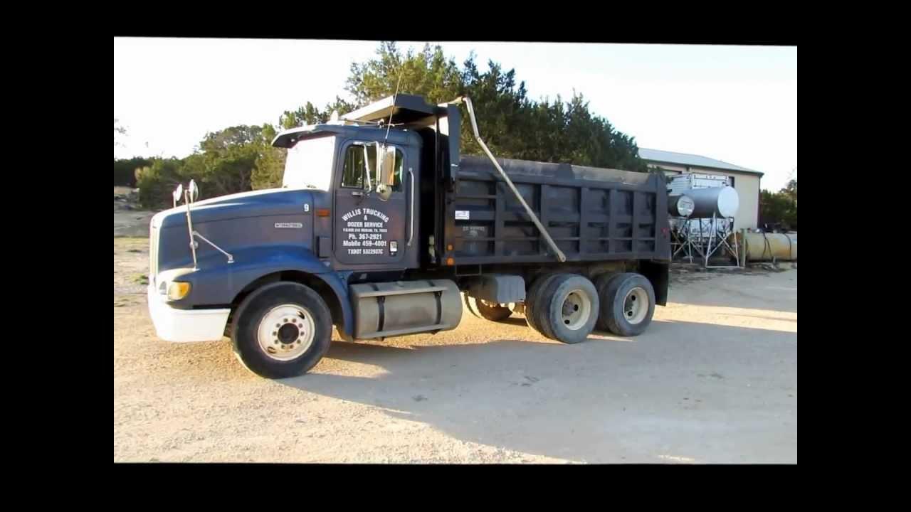 International Trucks For Sale >> 1999 International 9200 dump truck for sale   sold at auction April 25, 2013 - YouTube