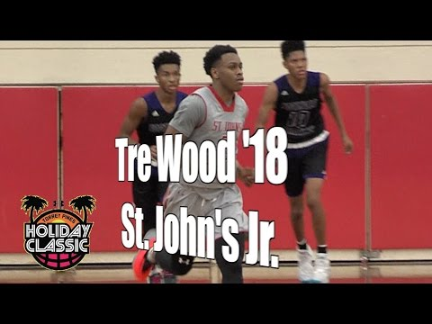 Tre Wood '18, St. John's Junior Year, 2016 UA Holiday Classic