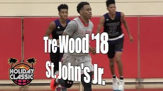 Tre Wood '18, St. John's Junior Year, 2016 UA Holiday Classic