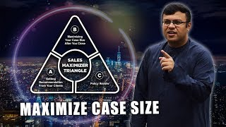 How to Maximize Case Size For Financial Advisor | Sales Maximizer Triangle | Dr Sanjay Tolani