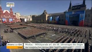Militärparade in Russland - VOR ORT vom 09.05.2013