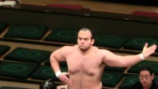 The First Egyptian,Arabian Sumo Wrestler In JAPAN.