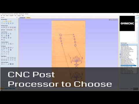 CNC Router Post Processor To Choose Vectric/Aspire -OMNICNC