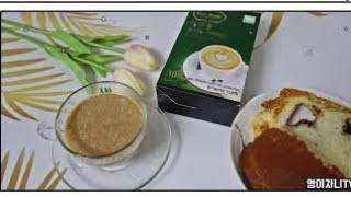 오가닉닥터 에코몽 유기농 커피믹스 스틱 마시기❤