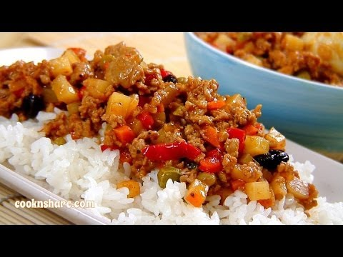 Ground Pork In Tomato Sauce