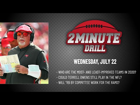 MOST-IMPROVED TEAMS IN THE NFL | 2 Minute Drill: Wednesday, July 22 | PFF