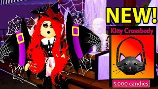 I BOUGHT ALL THE NEW HALLOWEEN SHOP ITEMS IN ROYALE HIGH! | Royale High Update | Roblox Halloween