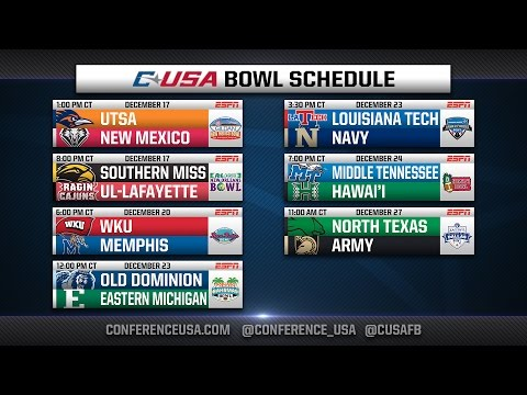 2016 #CUSAFB Bowl Preview Show