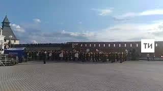 На территории казанского Кремля открылся фестиваль «Фанфары Казани»