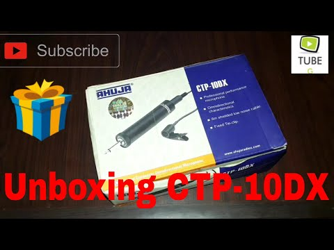 Unboxing Ahuja CTP-10DX With Sound Test(Hindi)