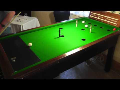 Guernsey Bar Billiards Pairs Open Plate Quarter-Finals - Game 1