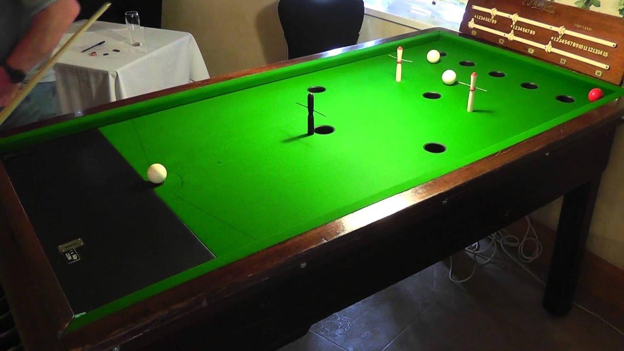 Guernsey Billiards Snooker Association: Guernsey Bar Billiards Pairs Open Plate Quarter-Finals
