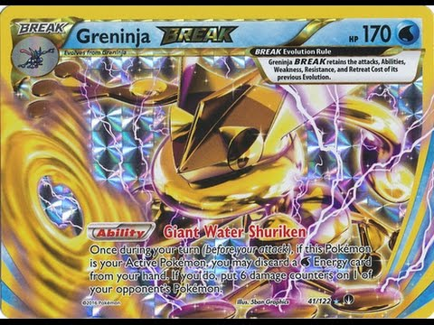 Greninja BREAK Deck KO Anything