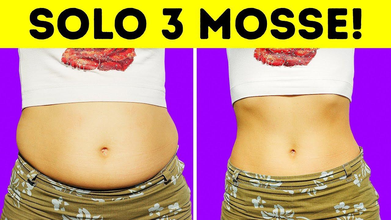 dieta ventre inferiore in 3 giorni