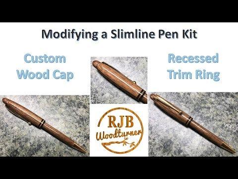 Modifying A Slimline Pen Kit