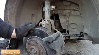 Замена Втулки Стабилизатора Передние на Renault Duster